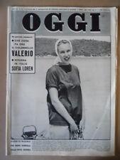 OGGI n°30 1959 Valerio su Mussolini Maria Gabriella Savoia Sofia Loren   [G790]