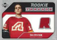 2005-06 Upper Deck Rookie Threads #RTEN Eric Nystrom Jersey - NM-MT