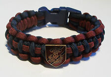royal engineers officer paracord armband