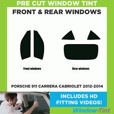Pre Cut Window Tint - Porsche 911 Carrera Cabriolet 2012-2014 - Full Kit