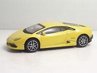 """Bburago 30290 Lamborghini HURACAN """"Yellow""""  ++ METAL Scala 1:43"""