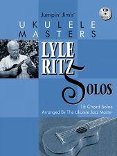 Jumpin' Jim's Ukulele Masters Lyle Ritz Solos Sheet Music 15 Chord Sol 000695702