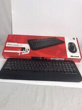 Microsoft 2000 Wireless Keyboard & Logitec Wireless Mouse