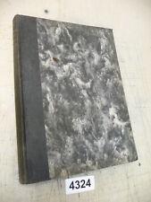 4324. Altes Buch Fachbuch Fachliteratur