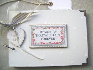 PERSONALISED  MEMORIES .A5 SIZE. PHOTO ALBUM/SCRAPBOOK/MEMORY BOOK