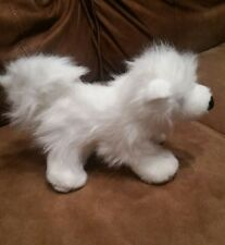 Samoyed dog Ganz Webkinz plush white Stuffed Animal collectible soft toy/decor