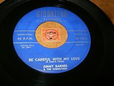 JIMMY BARNES - BE CAREFUL WITH MY LOVE - I NEED YOU SO MUCH   / LISTEN /  R&B