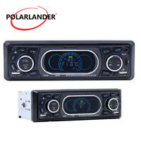 1 Din Autoradio Stéréo MP3 Lecteur Bluetooth Mains libres Audio FM/AUX/TF/USB
