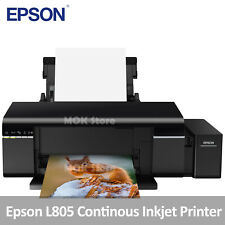 Epson L805 Continues Ink Supply System Inkjet Printer w/ Six Ink Tank, 42oz Ink