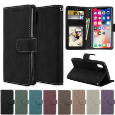 Matte Wallet Leather Flip Case Cover For iPhone 11 Pro 7 8 Plus X XR XS Max SE2