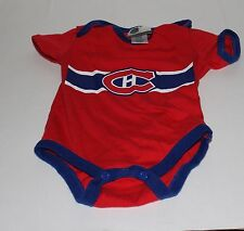 Montreal Canadians NHL Kids 12 Months Red One Piece