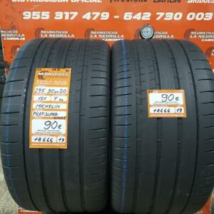 2 x  295 30 R 20 101Y XL ZR 5mm DOT19 Michelin Pilot Super Sport MO Ref. 18666