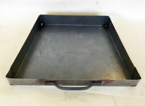Antique Fireplace Spares. Replacement  Steel Ash Pan. Cast Iron or Tiled Inset