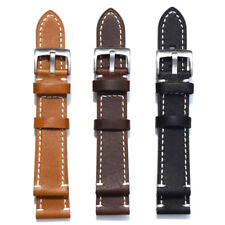 Vintage Genuine Leather Wristwatch Band Quick Release Strap Muiti-size Tools