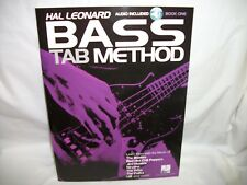 hal leonard bass tab method music book with Cd bass tab music book with cd