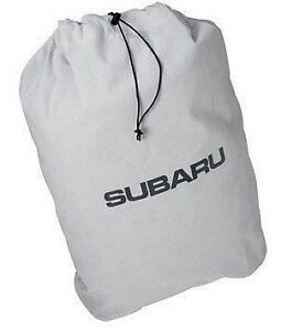 Genuine SUBARU OEM M0010AS020 Car Cover Storage Bag Legacy Wrx Forester Impreza