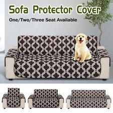 Funda de sofá de 1/2/3 Asientos Impermeable Mascota Perro Muebles Sofá proteger