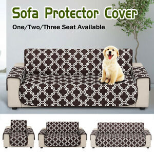1/2/3 Seater Waterproof Sofa Slip Cover Pet Dog Furniture Couch Protect