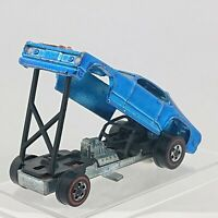 1971 Hot Wheels Mongoose Spectraflame Blue Redline USA hw1169