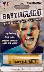EYEBLACK BattlePaint EyeBlack Athletic Grease *U PICK COLOR* Red Blue Yellow Grn