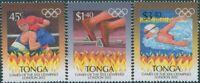 Tonga 2012 SG1651-1653 Olympics set MNH