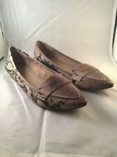 Cute Pre-owned Jessica Simpson Animal Print Shoes (Flats)
