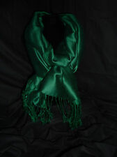 Pashmina Racing Green  Pashmina, Cashmere/Silk