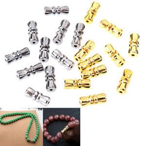 10Pcs Screw Clasp Barrel Screw Clasps For Diy Bracelet Necklace Jewelry Mak GU