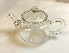 Japanese heat resistant borosilicate glass teapot high quality small tea pot