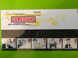 GB Presentation Pack Stamps - April 1998 - Comedians - Mint Condition