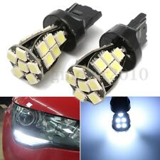 2pcs W21 5W T20 6000K LED Daytime DRL Sidelight Bulbs Lamps Canbus Error Free
