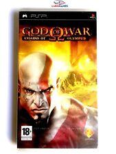 God of War Chains of Olympus PSP Playstation Nuevo Precintado Retro Sealed New