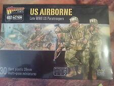 BOLT ACTION US Airborne-Late SECONDA GUERRA MONDIALE U.S. PARACADUTISTI-NUOVO e SIGILLATO