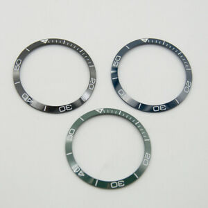 Watch parts CORGEUT 39.17mm Ceramic Bezel Insert For Mens Watch Case Inlay Ring
