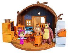 Masha y el Oso La Casa Bearhouse Juguete TV Infantil Niño Niña Plegable Simba