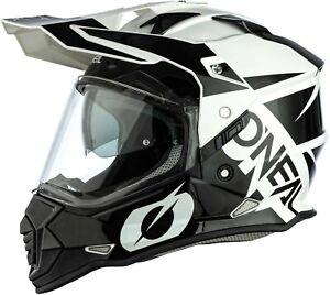 O'Neal Sierra II Helmet - MX Enduro Adventure Dual Sport Dirt Bike Off-Road ATV