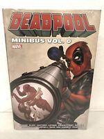Deadpool Minibus Volume 0 Spider-Man Hulk Marvel Comics HC Hard Cover New Sealed