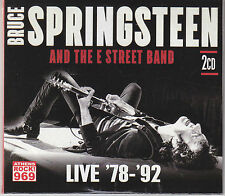 BRUCE SPRINGSTEEN 2xCD Greek PROMO Live E Band 78-85 - BORN TO RUN ON FIRE Digi