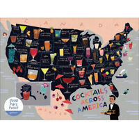 Cocktail 1000 Piece Jigsaw Puzzle For Adults Kids Learning Educational Game Gift