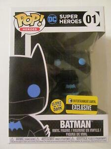 Funko Pop! Vinyl - Justice League - Silhouette Batman - EE Exclusive- Light Wear