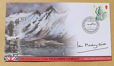 FALKLANDS WAR 25TH ANNIV 2007 BUCKINGHAM COVER SIGNED BY SIR IAN MACKAY-DICK