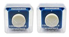 Carla Craft Carl Corner Punch CP-6 Twin Pack Round Corner & Cut Out Edge Shape