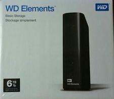 "WESTERN DIGITAL External Hard Drive Case Enclosure 3.5"" 5 6 8 TB, NO HARDDRIVE"