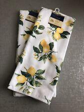 Home Collection Kitchen Towels Set   Amazing Lemons �   Set of 2 Towels! Summer