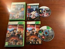 xbox 360 Lego Star Wars 2 and lord of the rings discs are excellent no scratches