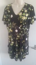 BNWT Joe Browns Ladies Multi Colour Floral Print Pocket Dress (UK 16)