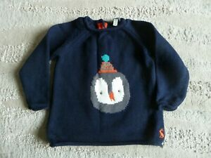 Baby Boys/Girls Christmas Jumper by Joules, Age 3-6 Months