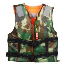 Kinder Erwachsene Schwimmweste Rettungsweste Lifejacket Camouflage Sided Wear