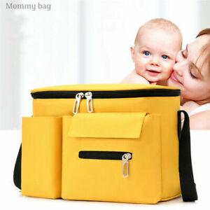 Baby Passeggino Organizer Borsa Gancio Passeggino Impermeabile Large Nero