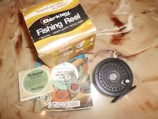 """Vintage Berkley Custom 554 Single Action 3"""" Fly Reel made in USA w/ Box & Papers"""